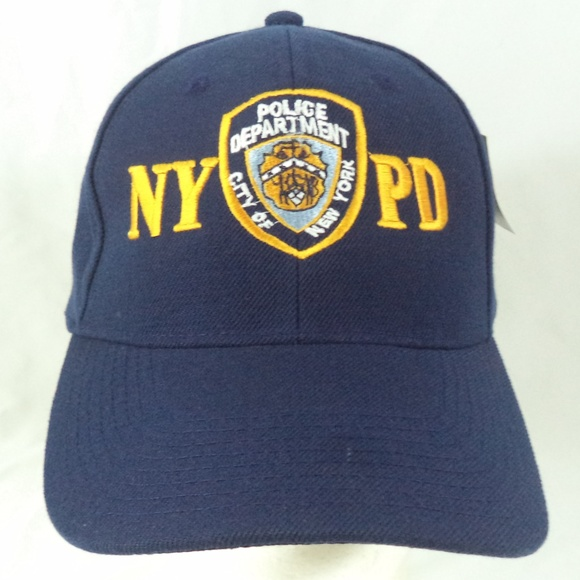 1faf02a07e9 NYPD Police Department Blue Strapback Cap Hat NWT